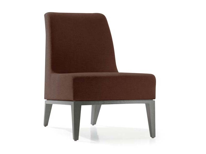 Upholstered armchair LUNA   Armchair by Potocco