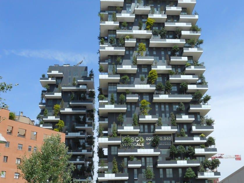 Steel Ventilated facade LUNA SLOT by DALLERA TECNOLOGIE