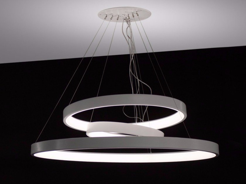 LED pendant lamp LUNAOP | LED pendant lamp by Martinelli Luce