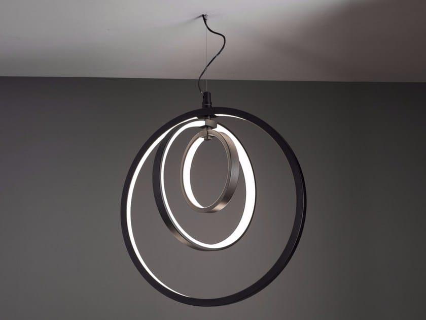 LED pendant lamp LUNAOP | Aluminium pendant lamp by Martinelli Luce