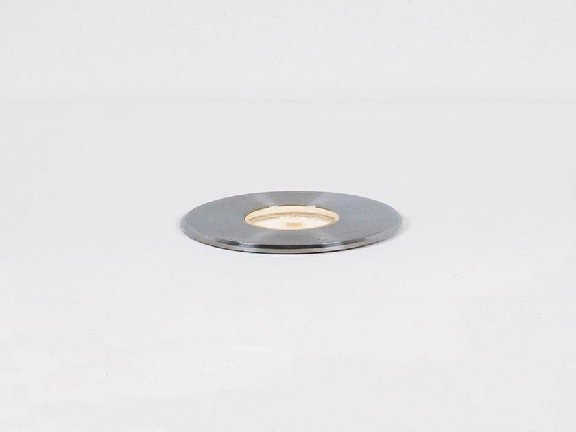 Segnapasso a LED in acciaio inox per esterni LUNAR S by HER