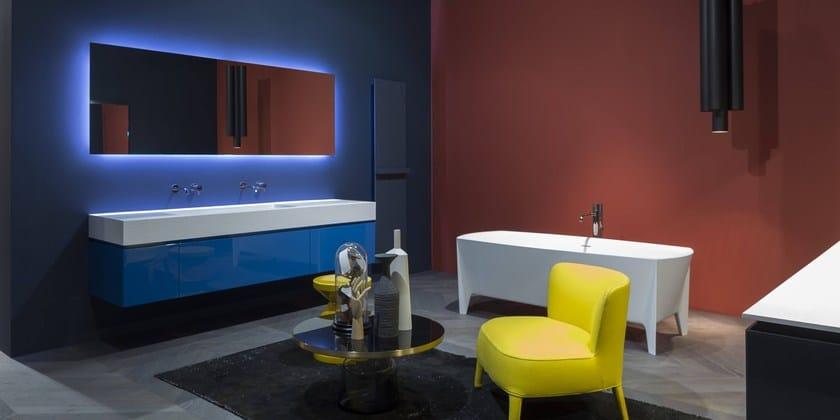 Badezimmerausstattung LUNARIA By Antonio Lupi Design