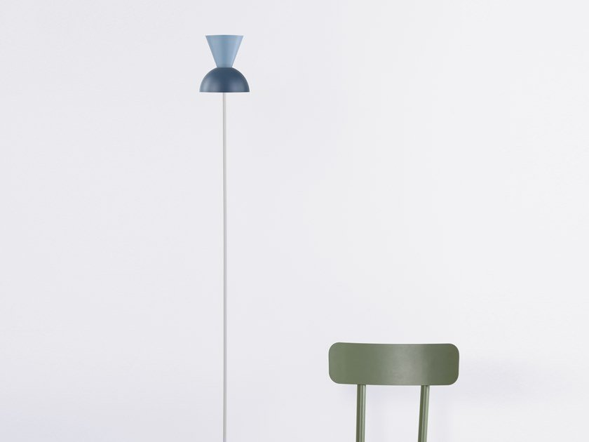 Iron floor lamp with dimmer LUNATICA | Floor lamp by STIP