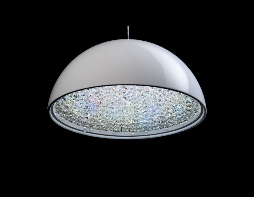 LED crystal pendant lamp LUNE | Crystal pendant lamp by Manooi