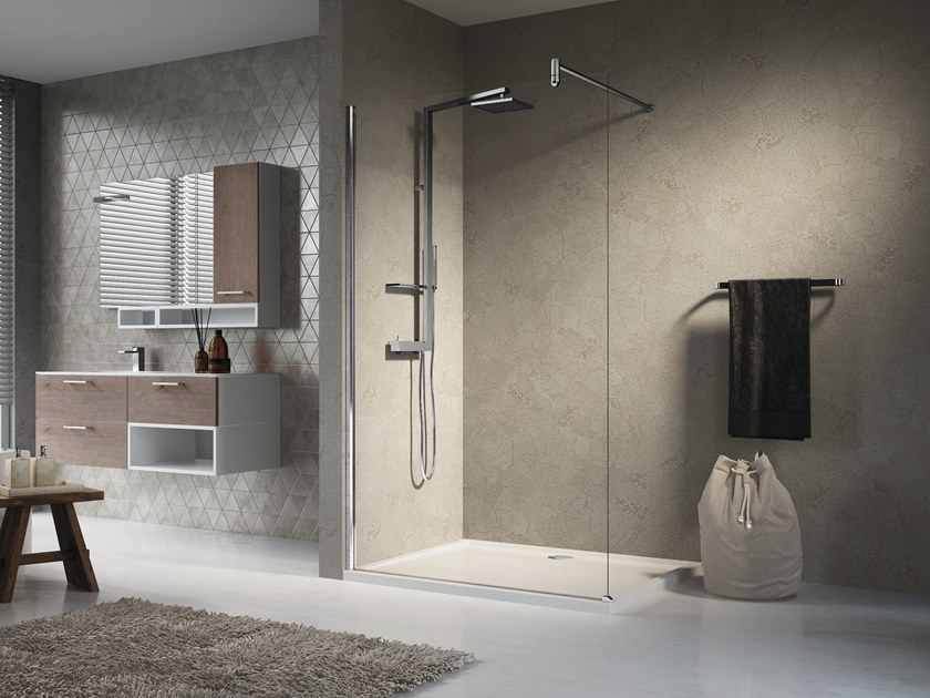 Glass shower cabin LUNES H by NOVELLINI