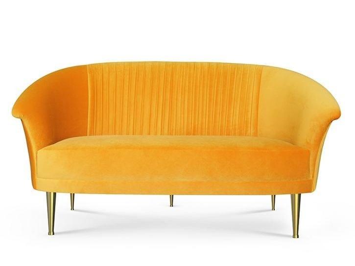 Velvet sofa LUPINO | Sofa by Ottiu