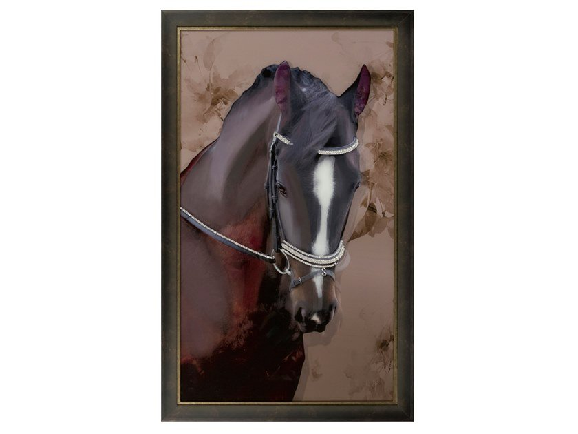 Print on glass LUSITANO by Green Apple