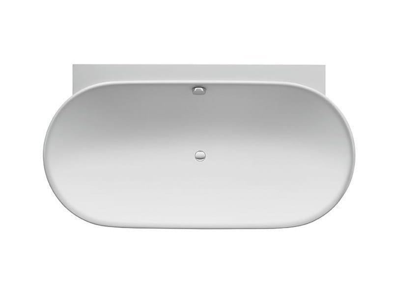 Oval bathtub LUV | Bathtub by Duravit