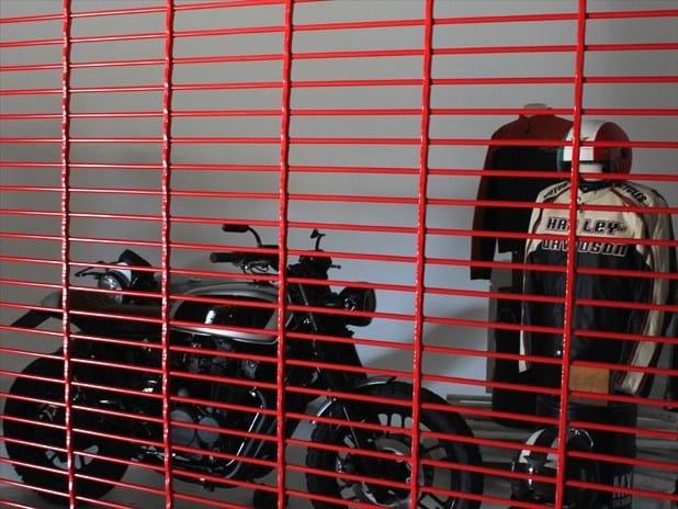 Roller garage door LUX DESIGN by OFFICINE LOCATI