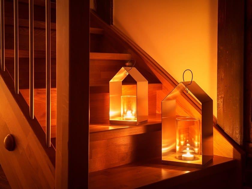Candle holder / lantern LUX HAUS by designimdorf