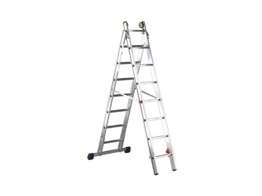 Aluminium heavy duty ladder LUXE2 by SVELT
