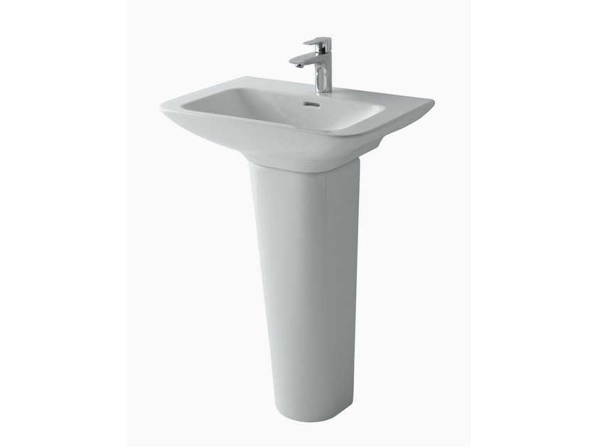Pedestal ceramic washbasin MH | Pedestal washbasin by TOTO