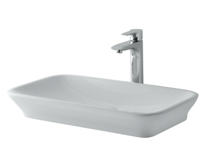 Countertop rectangular washbasin MH | Countertop washbasin by TOTO