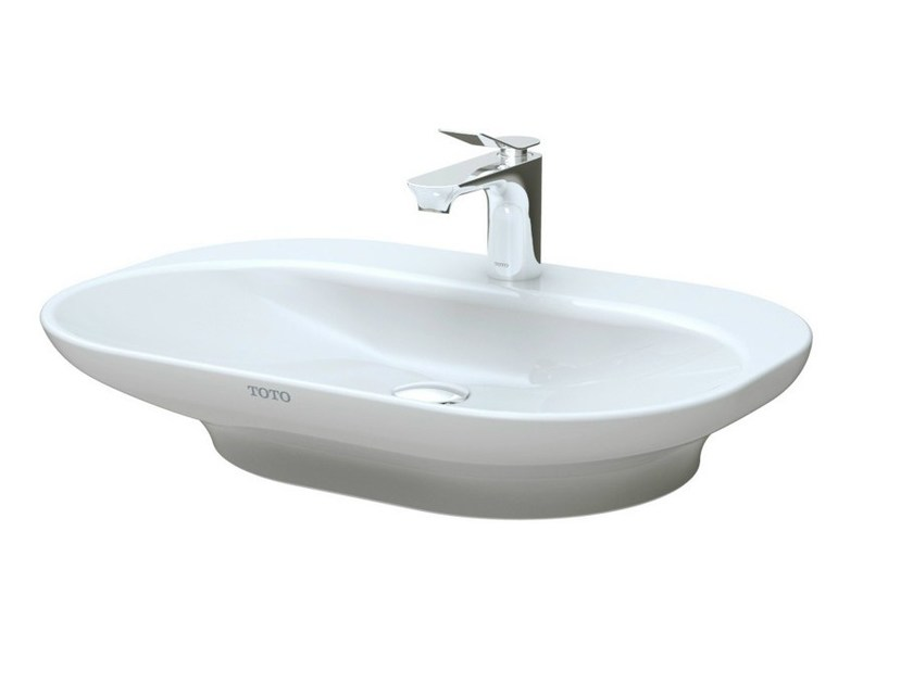 Oval ceramic washbasin MH | Oval washbasin by TOTO