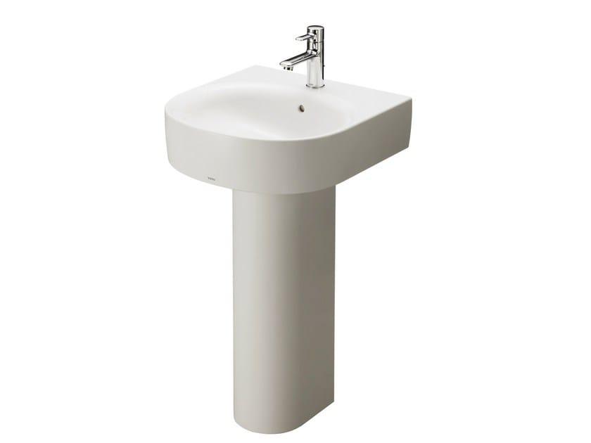 Washbasin pedestal NC   Ceramic washbasin pedestal by TOTO