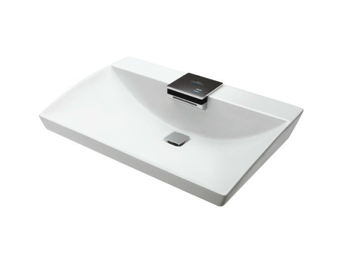 NEOREST   Rectangular washbasin By TOTO