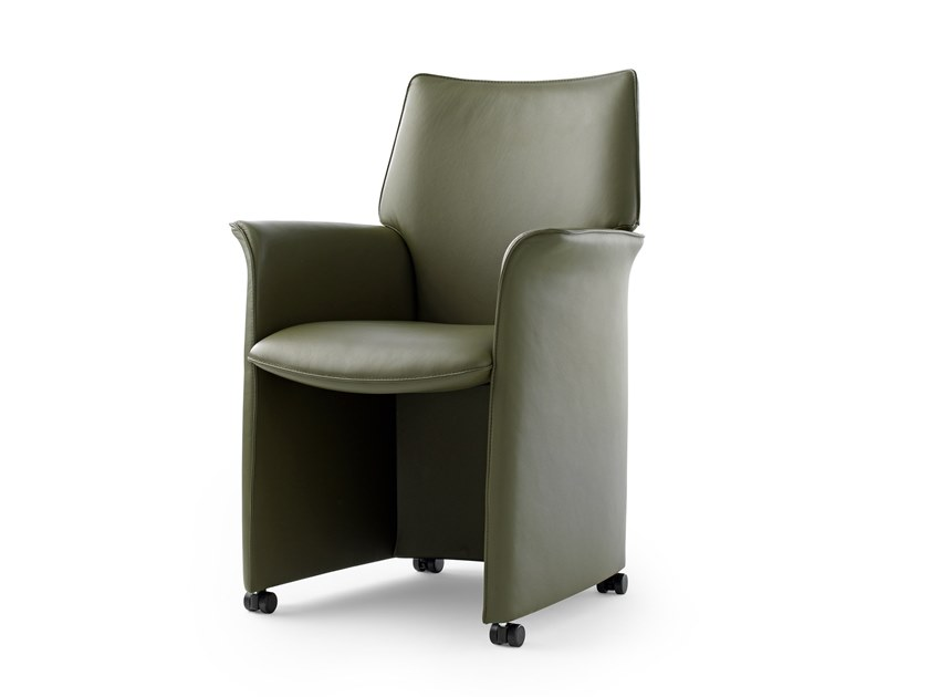Leolux Lx Lx380 Recliner Leather Chair, Leather Dining Room Chairs With Casters