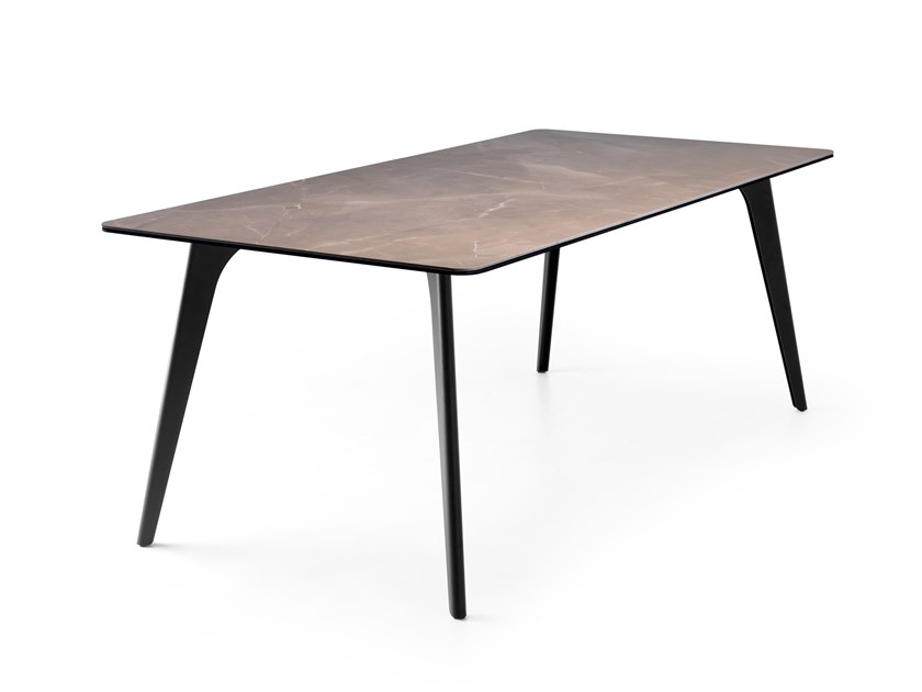 Rectangular Ceramic materials table LX643 | Table by LEOLUX LX