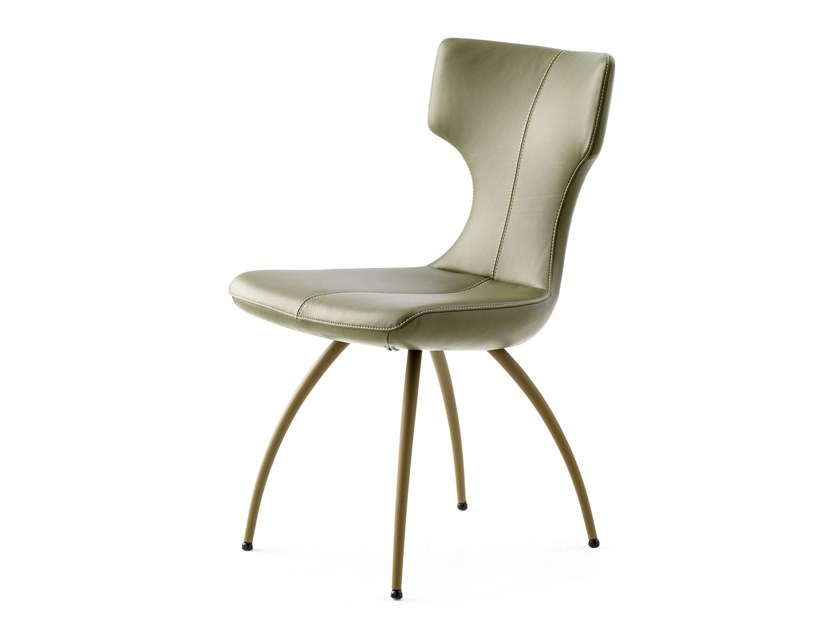 Upholstered fabric chair LX663 | Chair by LEOLUX LX