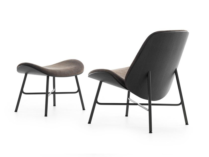Upholstered fabric easy chair LX690 | Easy chair by LEOLUX LX