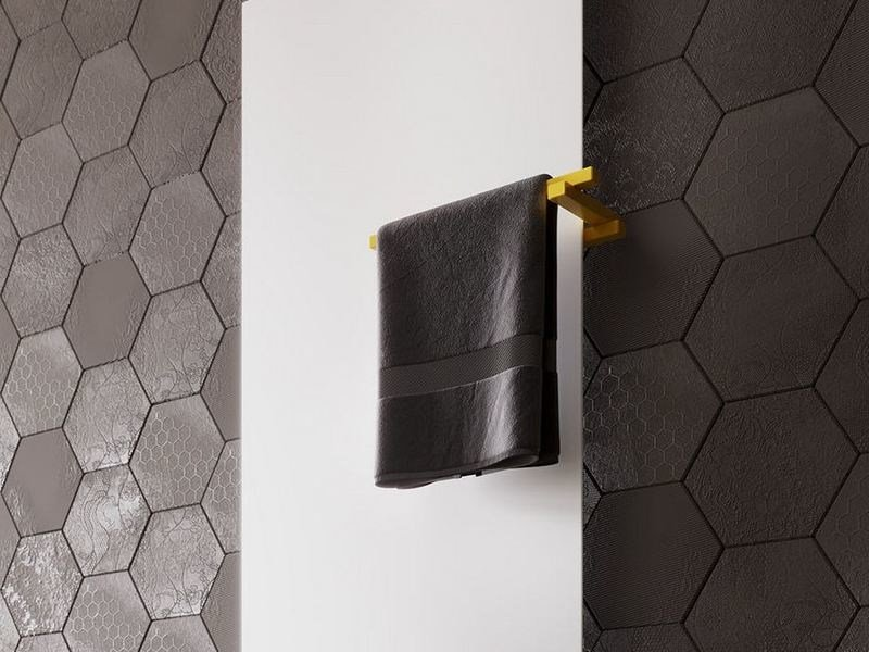 Towel rail for radiator LYNEA | Towel rack by CORDIVARI