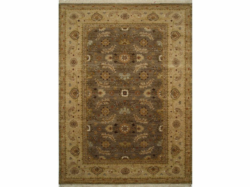 Handmade rug LYON SPR-17 Gray Brown/Sand by Jaipur Rugs