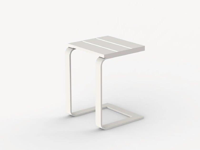 Aluminium garden side table LYRA by Ciela Mare
