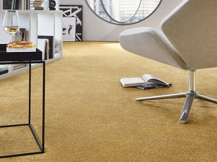 Solid-color carpeting LYRICA by Vorwerk Teppichwerke
