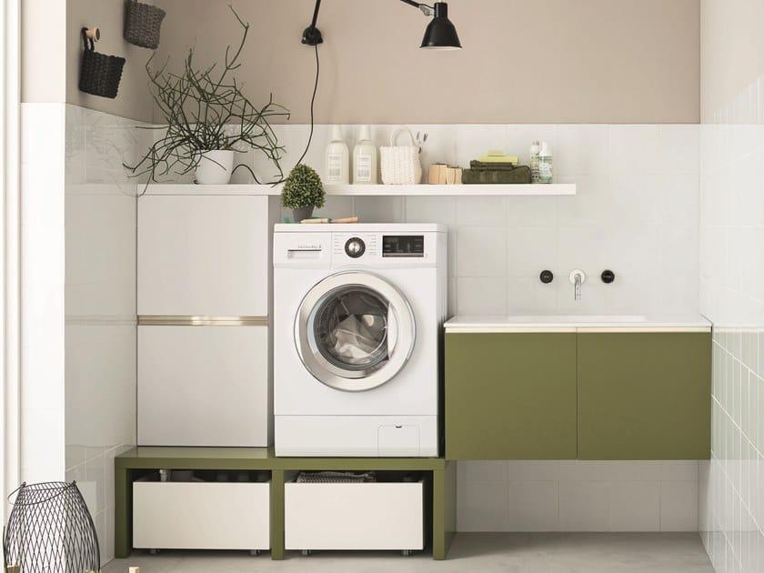 Mobile lavanderia laccato per lavatrice Mobile lavanderia laccato by ARBLU