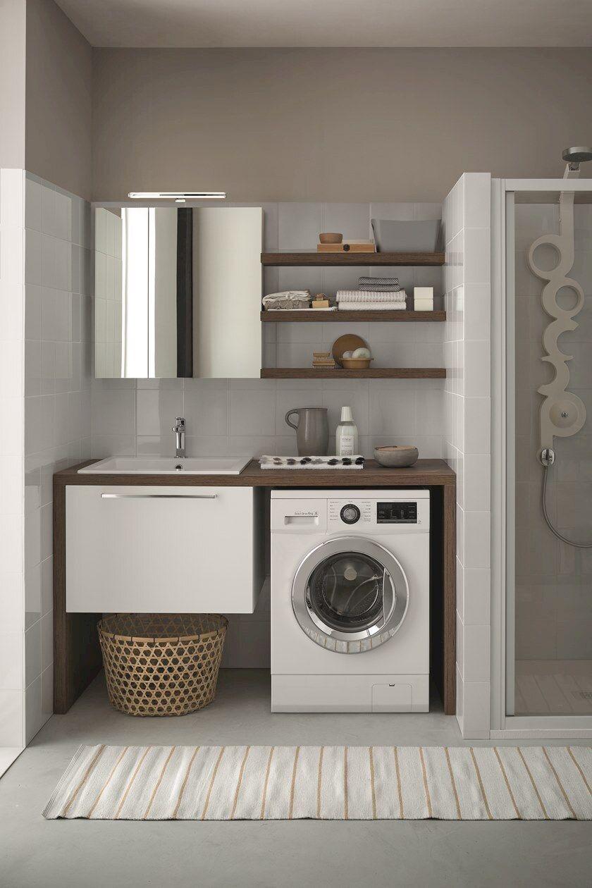 Colonna Per Lavatrice E Asciugatrice mobile lavanderia con cassetti per lavatrice mobile