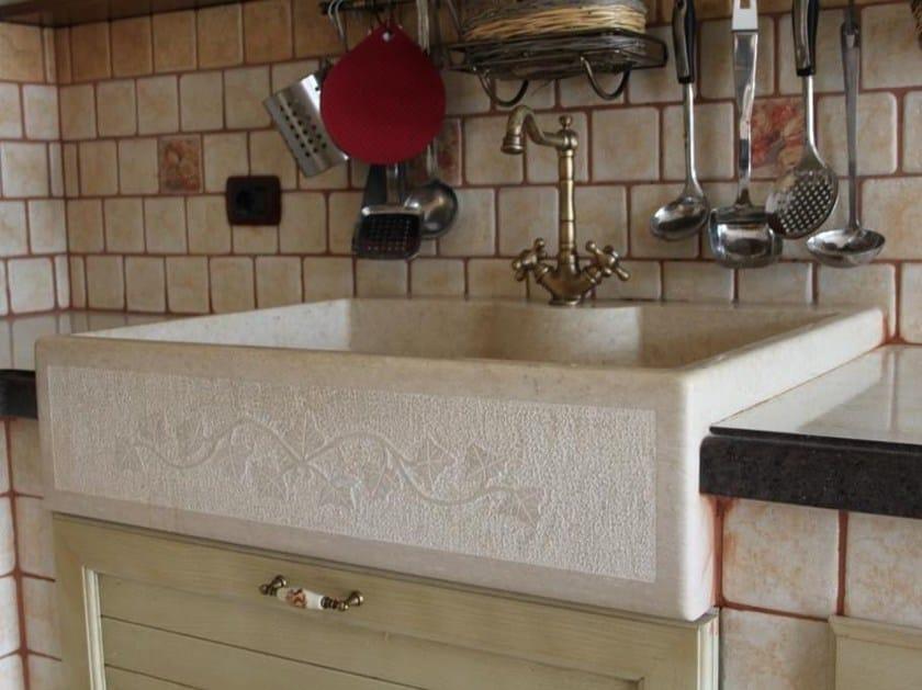 Lavello a una vasca in pietra calcarea Lavello a una vasca by Sgarlata