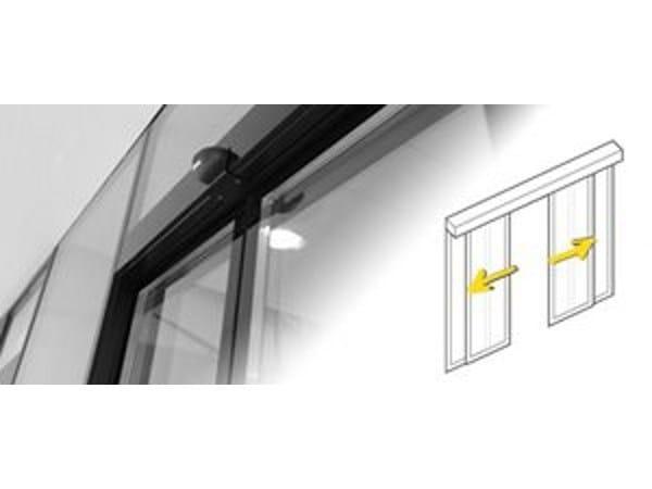 Glass sliding door Layered glass by Gilgen Door Systems