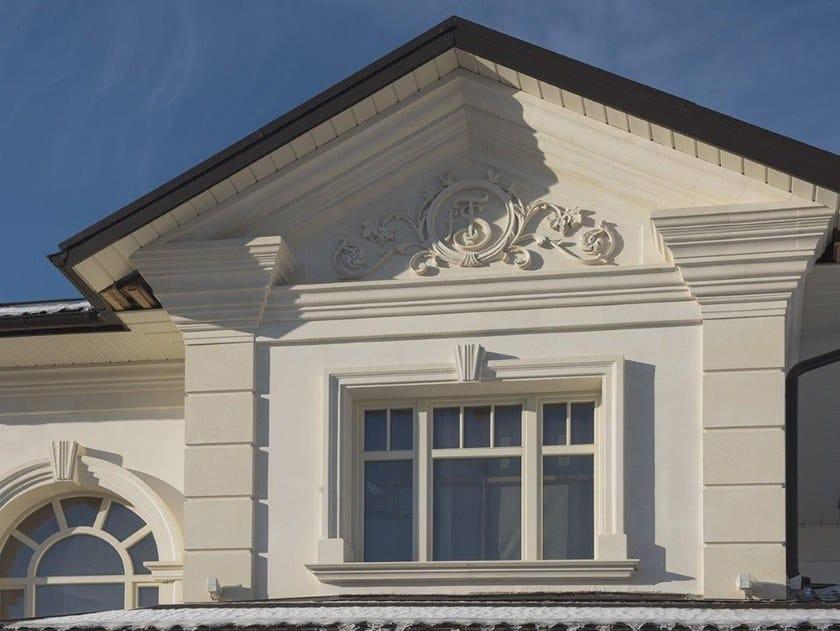 Cornice per facciata in pietra leccese Cornice per facciata in pietra leccese by PIMAR
