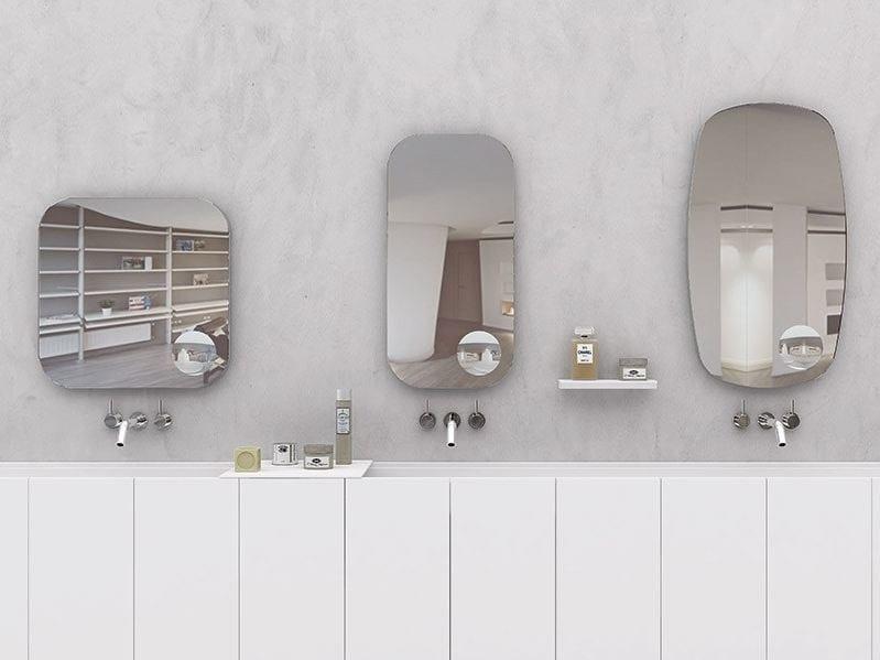 Specchio per bagno lens mirror makro