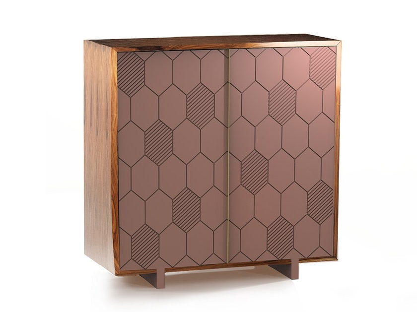 Wooden bar cabinet LEWIS | Bar cabinet by Mambo Unlimited Ideas