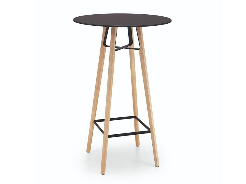 Base per tavoli in legno LIÙ | Base per tavoli by Midj
