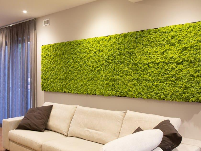 Indoor Vertical Garden Artificial Lichen By Carlo Civera