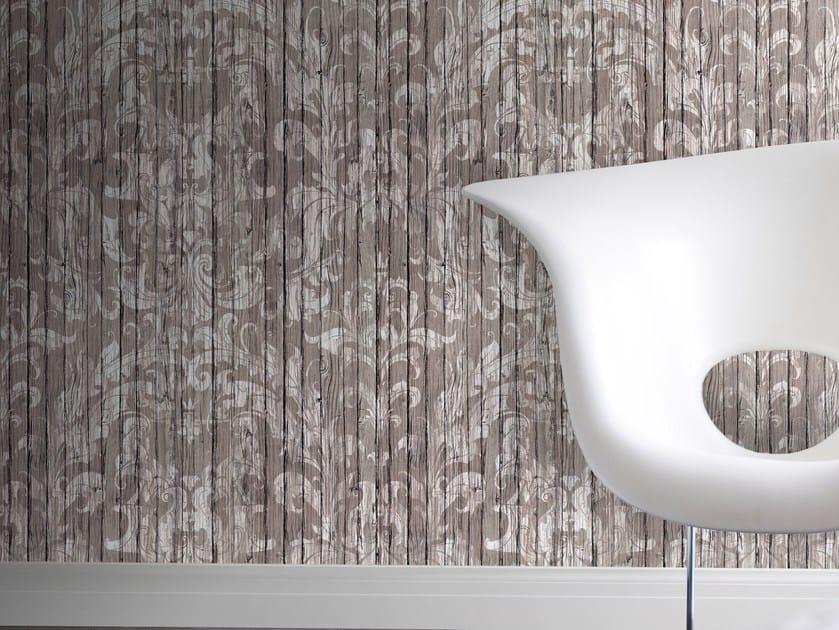 Wallpaper LIGHT DRIFTWOOD DAMASK by Mineheart