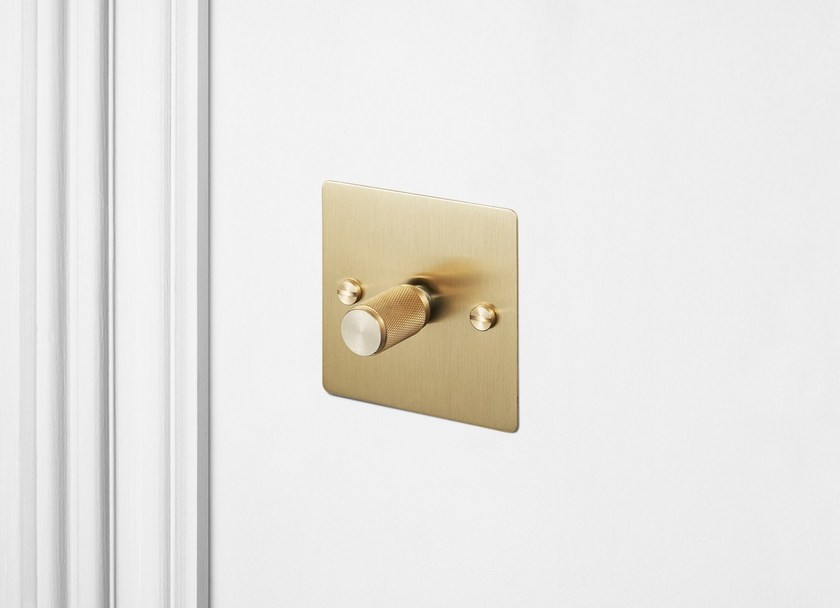 switches Light Switches - Brass By Buster + Punch