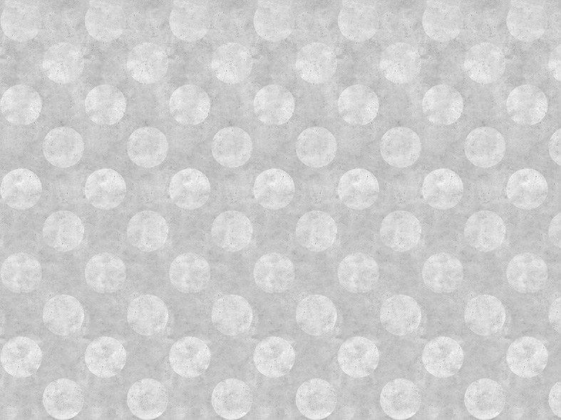 Wallpaper LIGHT URBAN CONCRETE POLKADOT by Mineheart
