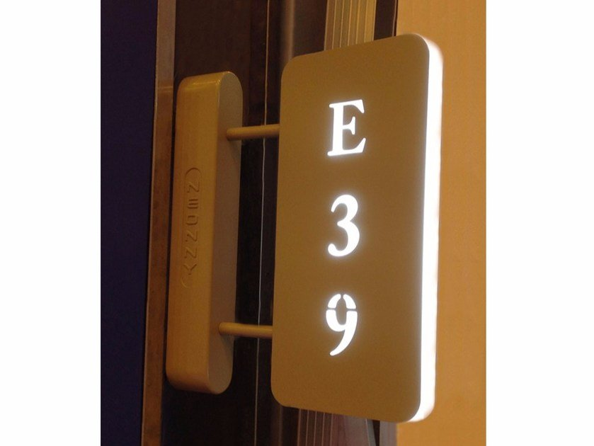 LED emergency light for signage Led Door Sign by Neonny
