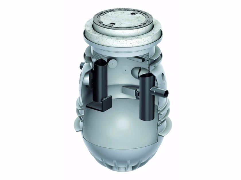 Oil separator, de-oiler and grease separator ACO Lipumax P B NG 4 by ACO PASSAVANT