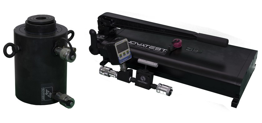 Hydraulic Kit Load tests on pile foundations By NOVATEST