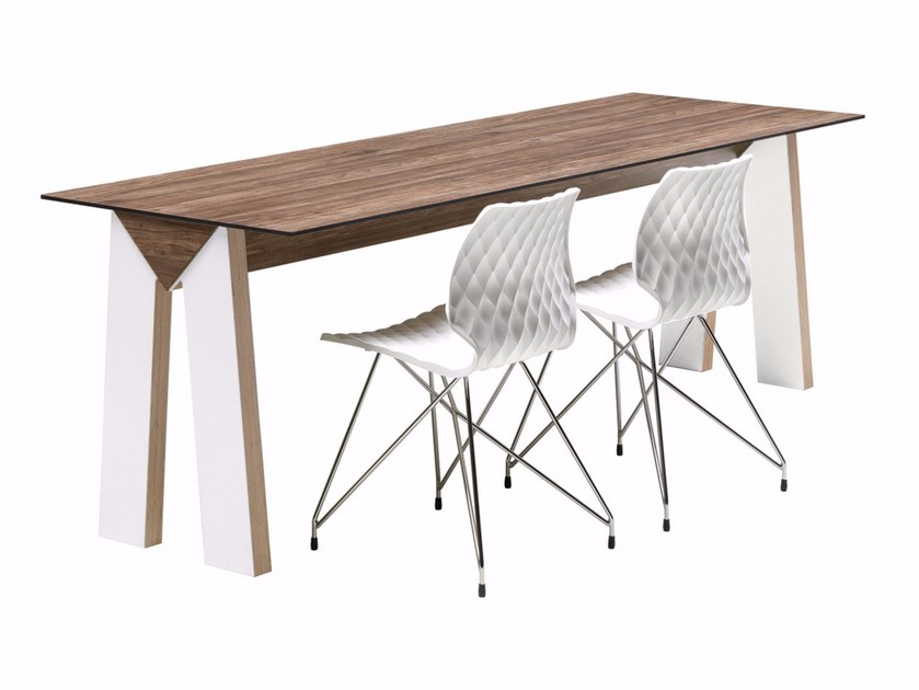 Rectangular table LowLink 508 by Metalmobil