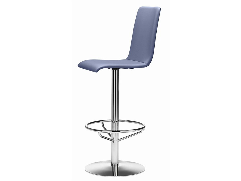 Swivel stool with footrest Luna 330 by Metalmobil