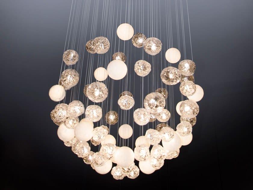 Lampada a sospensione a LED MÉTÉOR   Lampada a sospensione by Beau & Bien