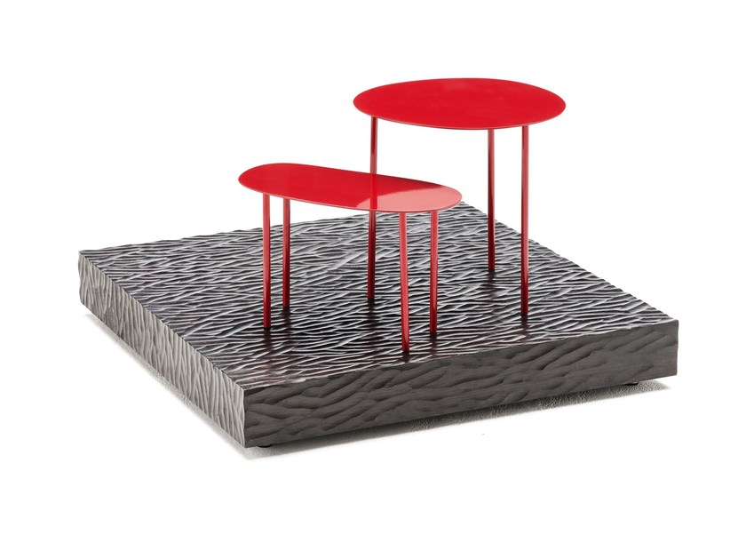 Plate coffee table M+R by Living Divani