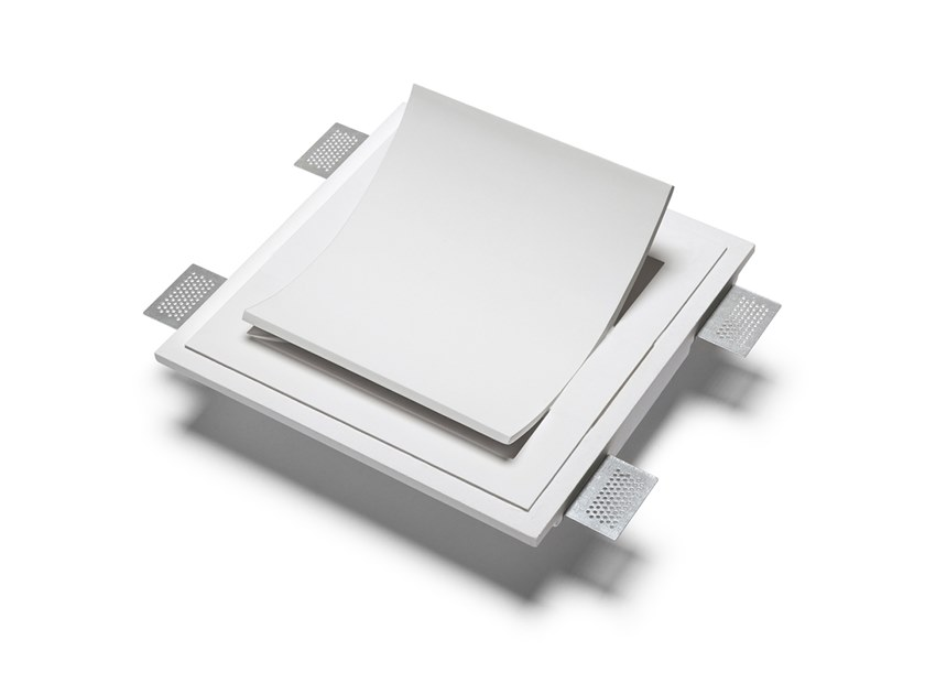 LED recessed Cristaly® wall light M001C | Recessed wall lamp by 9010 novantadieci