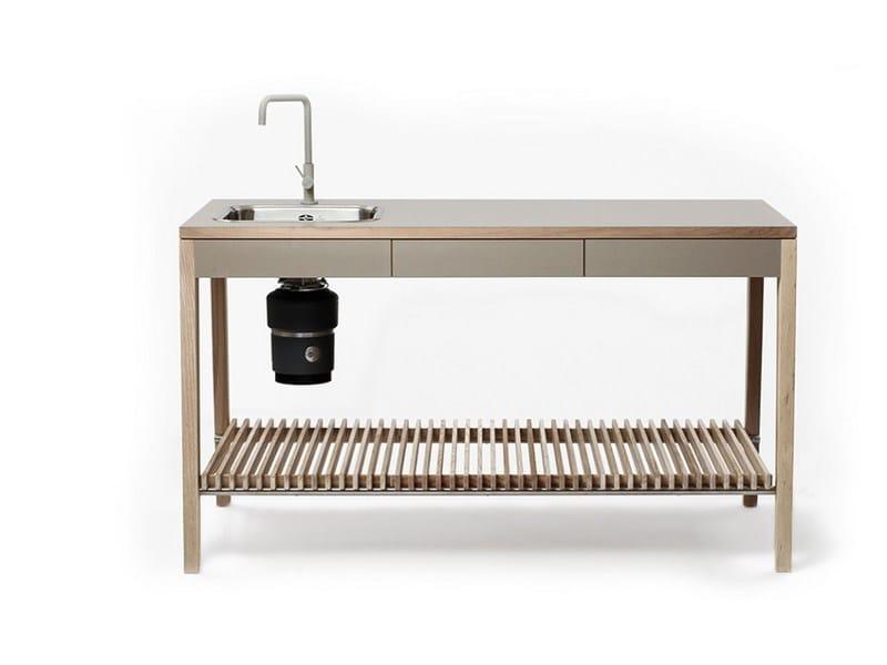 Wooden kitchen unit M1001 by MINT FACTORY