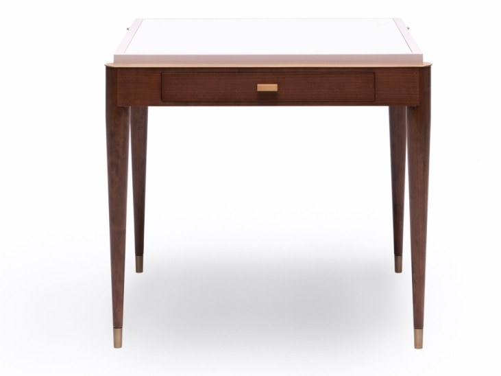 Cherry wood secretary desk with drawers O 1612 | Secretary desk by Annibale Colombo